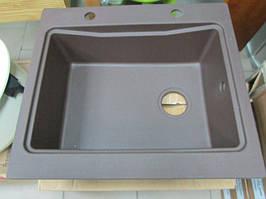 Мойка кухонная гранитная Deante Modern 52 x 59 (коричневый металлик)