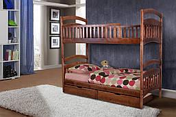"""Кровать деревянная  двухъярусная """"Кира"""""""