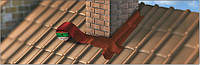 Nicoband 15 см коричневый