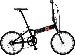 Городской складной велосипед Giant Halfway чёрный (GT)