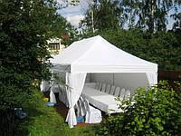 Шатры открытого и закрытого типов - мобильные шатры