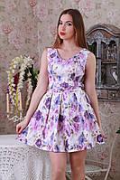 Коктельное платье с пышной юбкой