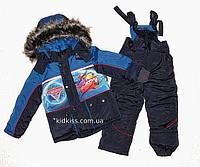 Комбинезон зимний на овчине. Куртка и полукомбинезон рост 92-120