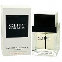 Carolina Herrera Chic For Men  edt 60 ml.  m  оригинал