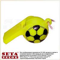 """Жёлтый свисток """"Футбольный мяч"""""""