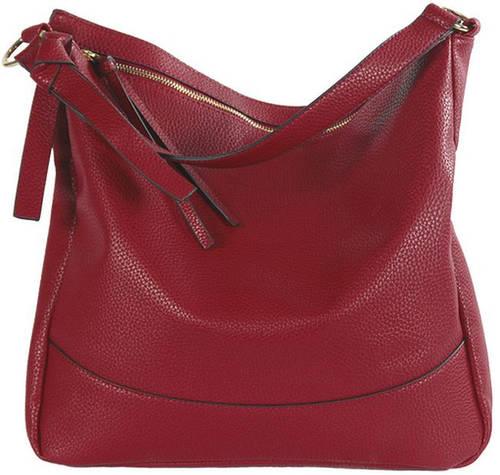 Оригинальная женская сумка из искусственной кожи Traum 7236-02, красный