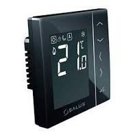 """""""SALUS"""" VS35B Суточный, электронный регулятор температуры, черный, скрытого монтажа, 230 V"""