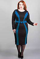 Платье для пышных дам в классическом стиле