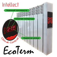 Электрорадиатор EcoTerm  Intellect ET-6i  с программатором, стандарт 76""
