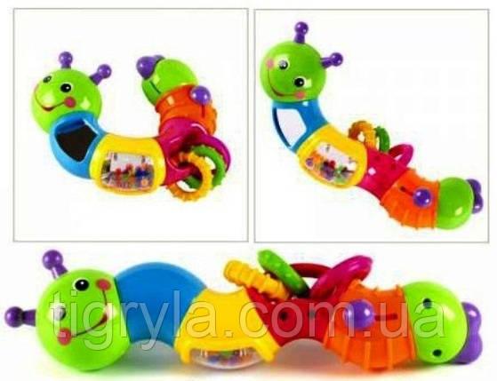 Развивающая игрушка Гусеница-ломалка, фото 2