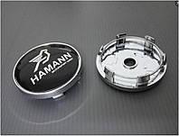 Заглушки колпачки литых дисков BMW 60mm Hamann