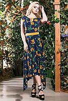 Изысканное романтичное яркое платье