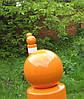 Тротуарный парковочный столбик из метелла