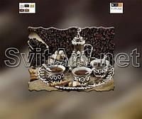 Схемы для вышивки бисером на холсте Кофейный сервиз (А4)