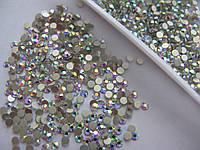 Стразы ss12 Crystal AB 1440шт.(3,0мм) silver foil