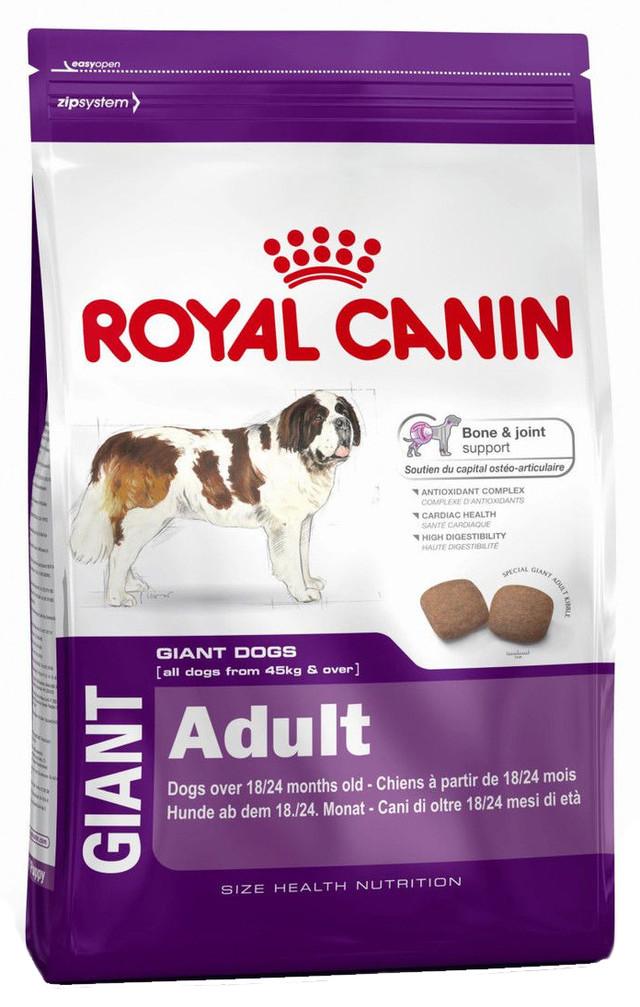 Корм для собак гигантских пород Royal Canin Giant Adult