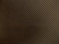 Кожа перфорированная (шоколад) (арт. 0823) отрез 0,67 м