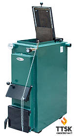 Твердотопливный котел ТЕРМІТ-ТТ 12 кВт Эконом (без обшивки и теплоизоляции)