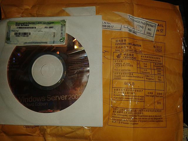 Программное обеспечение Microsoft Windows Server Std 2003 1-4CPU 5Clt Russian OEM (P73-00663)