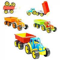 Трактор с прицепом 3442 ТехноK