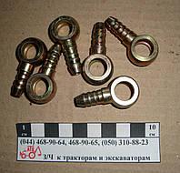 Штуцер угольник НД кольцевой d-12мм