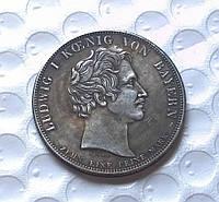 Двойной талер 1841 Людвиг I   Бавария памятник Рихтеру в серебре №285