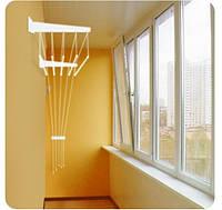 Сушка для белья настенно потолочная Филпласт 140 см.