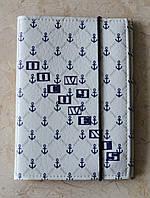 Обложка на авто документы + паспорт (2в1) экокожа, ручная работа