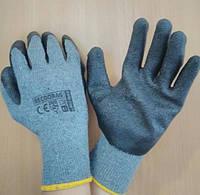 Перчатки обрезиненные, черные, RECODRAG SB (REIS)., фото 1