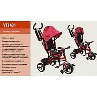 Детский трехколесный велосипед Super Trike VT1431 (пена колеса) красный