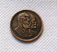 Червонец 1949 года СССР Сталин Ленин профиль №385а