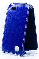 Чехол Status Standart Flip Series Lenovo A369 Dark Blue