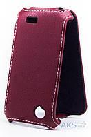 Чехол Status Standart Flip Series Lenovo A369 Lilac