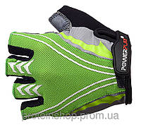 Велоперчатки PowerPlay 5007 Зеленый, хл