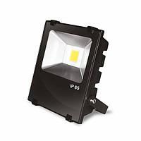 LED прожектор с радиатором Eurolamp Modern LED-FLR-COB-10(black) 10W