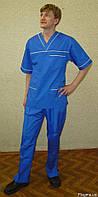 Костюмы хирурга, пошив под заказ, медицинские модельные мужские костюмы
