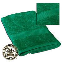 Махровое полотенце изумруд (70*140)