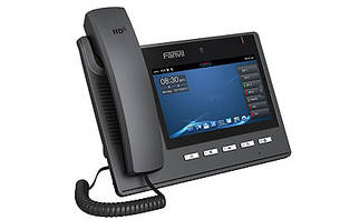 IP - видеотелефон Fanvil C600 IP - видеотелефон ультра, PoE, фото 2