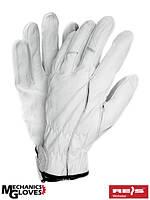 Кожаные перчатки спортивные REIS (RAW-POL) Польша RMC-PEGASUS W