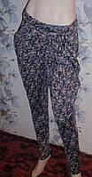 Штаны летние галифе с поясом, брюки