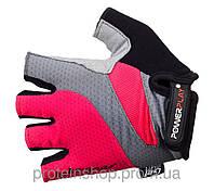 Велоперчатки PowerPlay 5004 Розовый, с