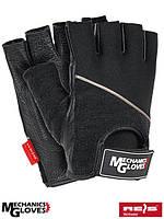 Перчатки для фитнеса кожаные Польша (спортивные) RMC-PICTOR