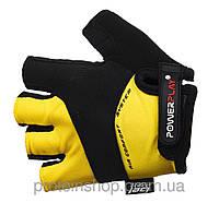 Велоперчатки PowerPlay 5013 Желтый, ххл