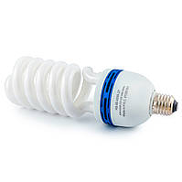Лампа энергосберегающая 65Вт Е27 4200К (Евросвет)