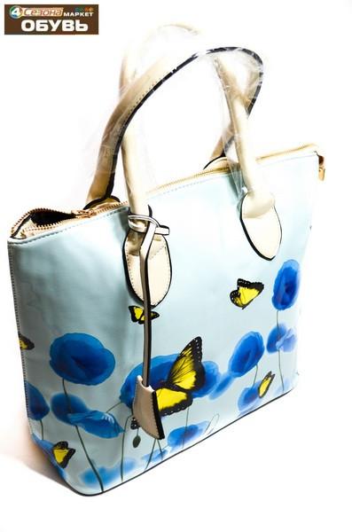 0f2871df8de1 Сумка женская летняя с рисунком бабочки от интернет-магазина