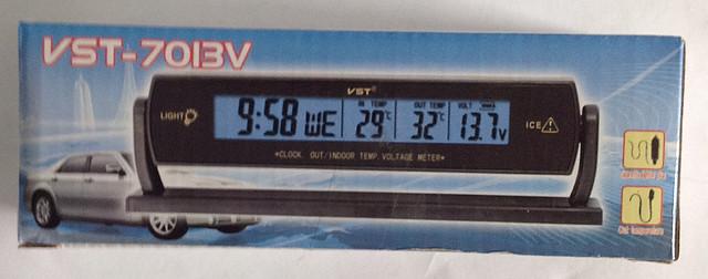 """Автомобильные часы VST 7013V - Гипермаркет """"Оптовик"""" Трать меньше - живи лучше! в Харькове"""