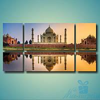 Модульна картина Тадж Махал з 6 фрагментів