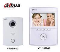 IP видеодомофон Dahua VTKB-VTO6100C-VTH1520AH