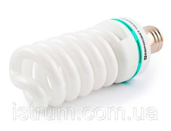 Лампа энергосберегающая 65Вт Е40 4200К (Евросвет)