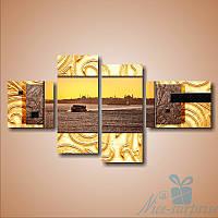 Модульная картина Турецкий берег из 4 модулей, фото 1